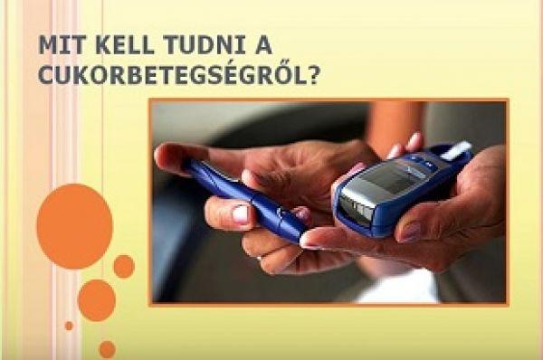 Mit kell tudni a cukorbetegségről